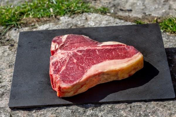 bio porterhouse steak fleisch grillen kochen