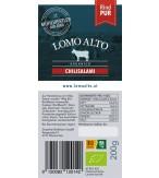Chilisalami mild geräuchert 200g/Stk biologisch lomo alto