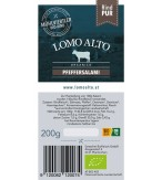 Pfeffersalami mild geräuchert 200g/Stk lomo alto biologisch