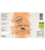 Rindergulasch Lomo Alto Etikette BIO
