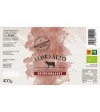 Rotweinragout im Glas 400g etikett biologisch lomo alto